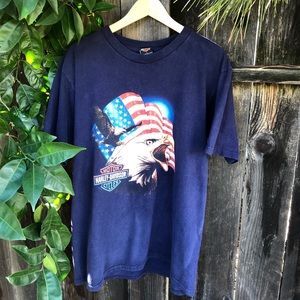 🦅🦅 Vintage Harley Davidson Tee Shirt